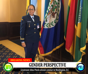 Lieutenant Alma Pinelo