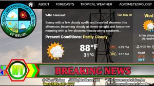 Belize Weather Bureau website