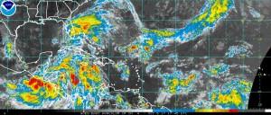 Western Atlantic satellite [Courtesy NOAA]