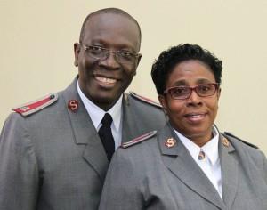 Lt. Col. Devon and Verona Haughton (Territorial Commanders-designate)