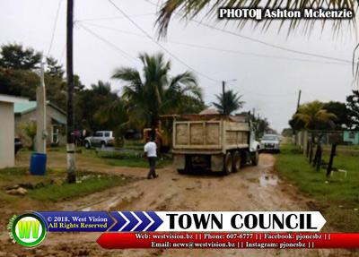 P.G. Town Council road works