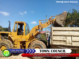 Town Council infrastructure works
