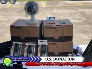 U.S donation