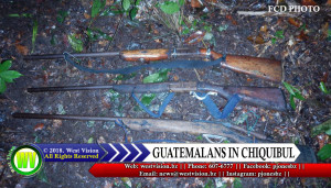 Shotguns the Guatemalans were carrying